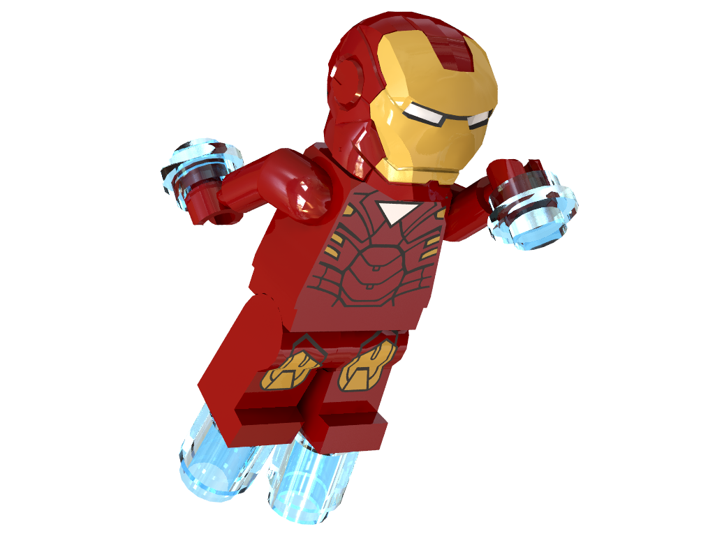 Iron Man Lego Minifigure
