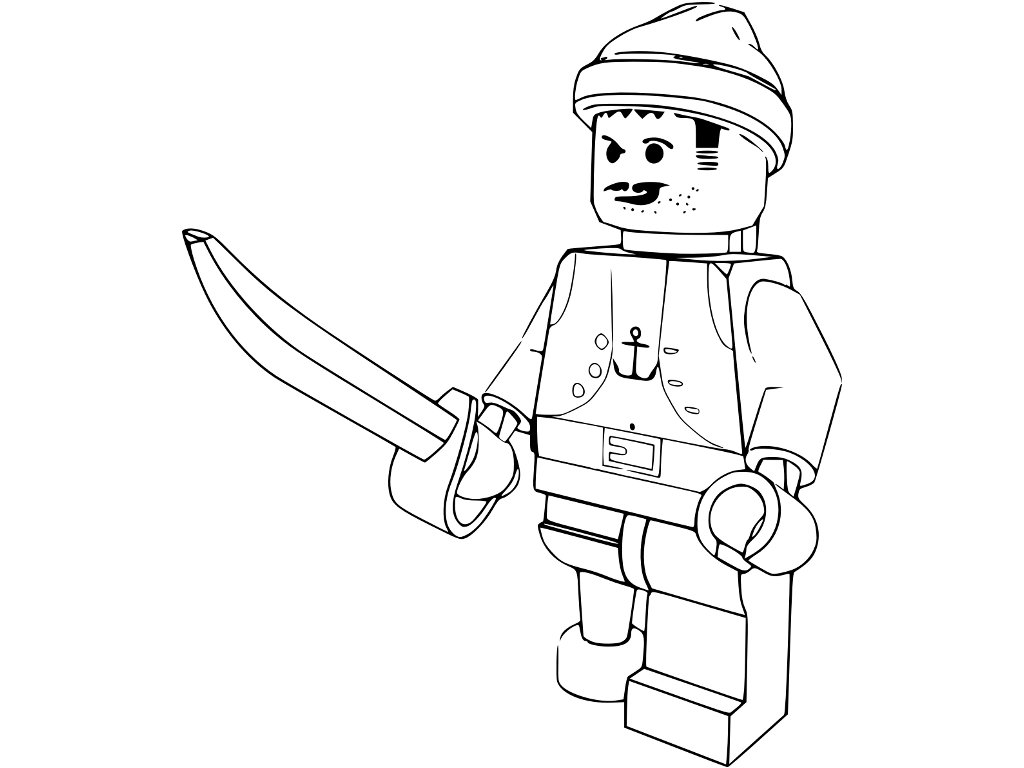 Free Colorear Lego Coloring Pages Coloring Page Lego