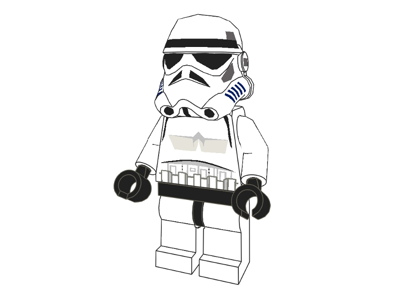 Storm Trooper Coloring Pages - HiColoringPages